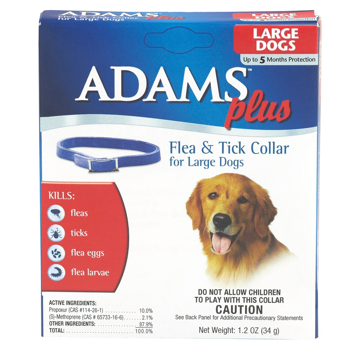 Adams Plus Flea and Tick Collars