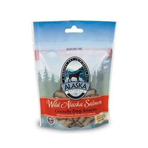 Alaskan Salmon Oil Wild Alaska Salmon Crunch Treats Dog Snacks
