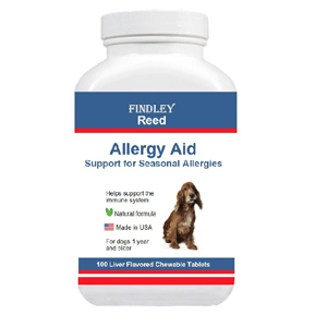 Allergy Aid for Dogs Natural By Findley Reed