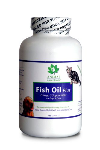 Animal Essentials Fish Oil Plus for Dogs and Cats