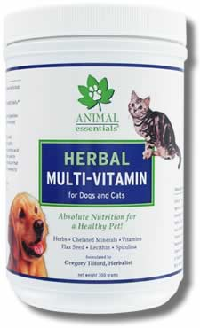 Animal Essentials Herbal Multi-Vitamin for Dogs & Cats