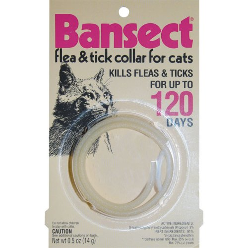 Bansect Flea & Tick Collar Cats
