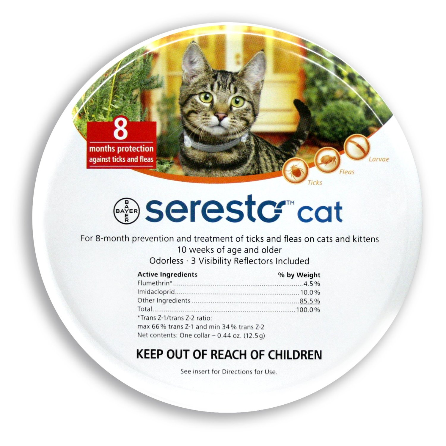 Bayer Seresto Flea and Tick Collar