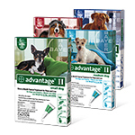 Bayer Advantage II Flea Control for Dogs