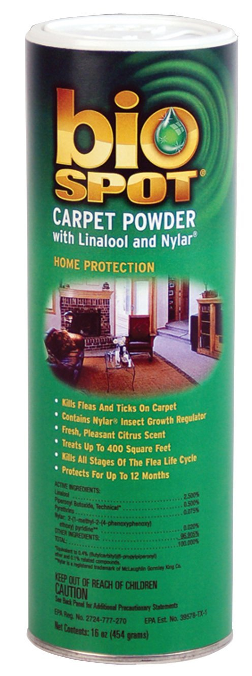 Bio Spot Carpet Powder with Linalool & Nylar