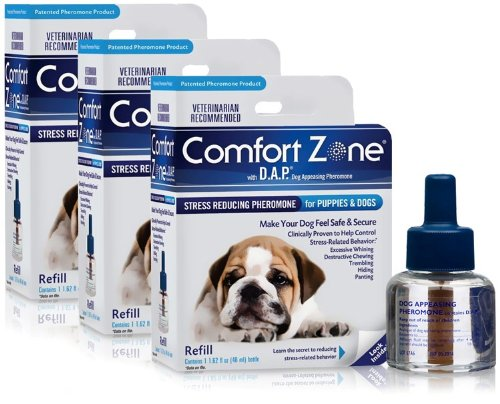 Central Life Sciences Comfort Zone Refill with Dog Appeasing Pheromone