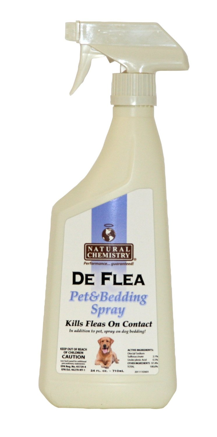 De Flea Pet & Bedding Spray for Dogs