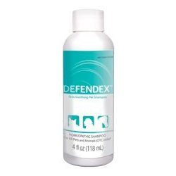 Defendex All-Natural Flea Tick and Mange Shampoo for Dogs and Cats