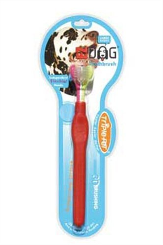 EZDOG Triple Pet Toothbrush