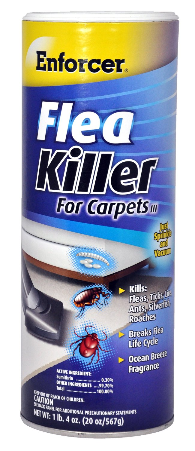 Enforcer 20-Ounce Flea Killer for Carpet