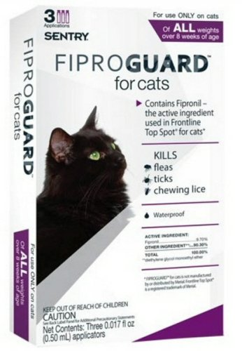 Cat Flea, Lice & Tick Control