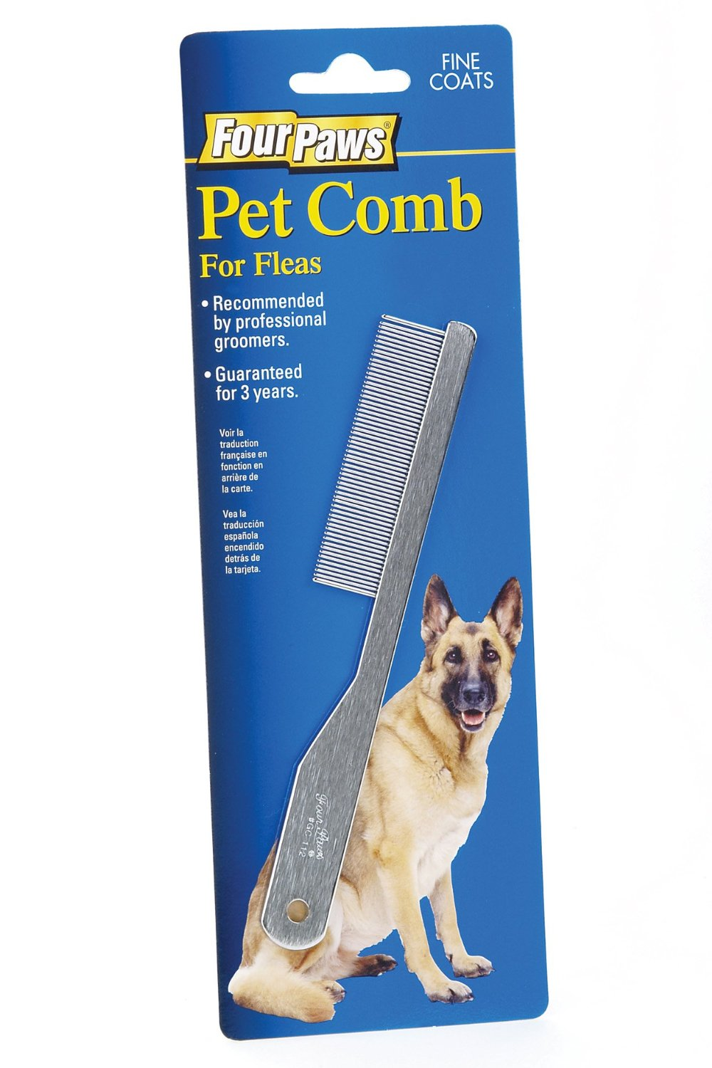 Four Paws Pet Comb For Flea Removal