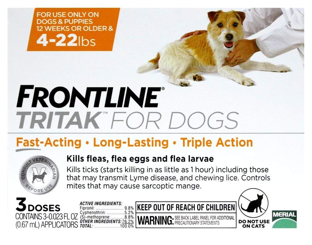 Frontline Tritak for Dogs and Puppies
