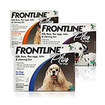 Frontline Plus Flea and Tick Control for Dogs and Puppies