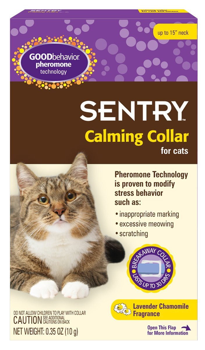 GOODbehavior Pheromone Calming Collar Cat