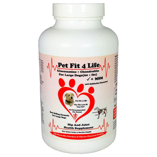 Glucosamine For Dogs with Chondroitin + MSM