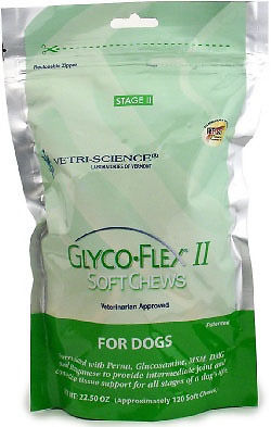 Glyco-Flex II Soft-Chews for Dogs