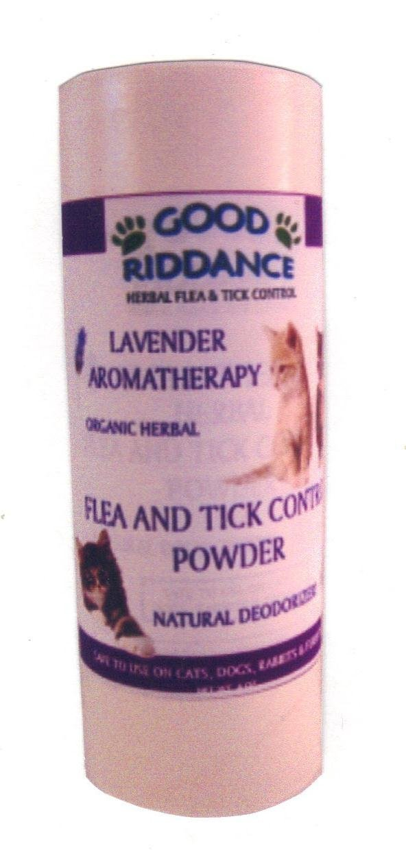 Good Riddance Organic Flea Powder for Cats