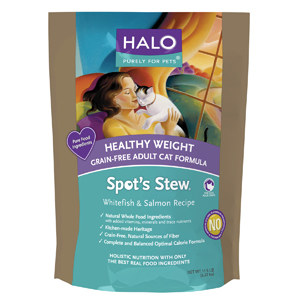 Halo Spot's Healthy Weight Grain Free Food