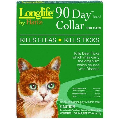 Hartz Mountain Long Life 90 Day Flea And Tick Collar