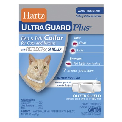 Hartz Ultraguard Plus Reflecting Flea &Tick Cat Collar
