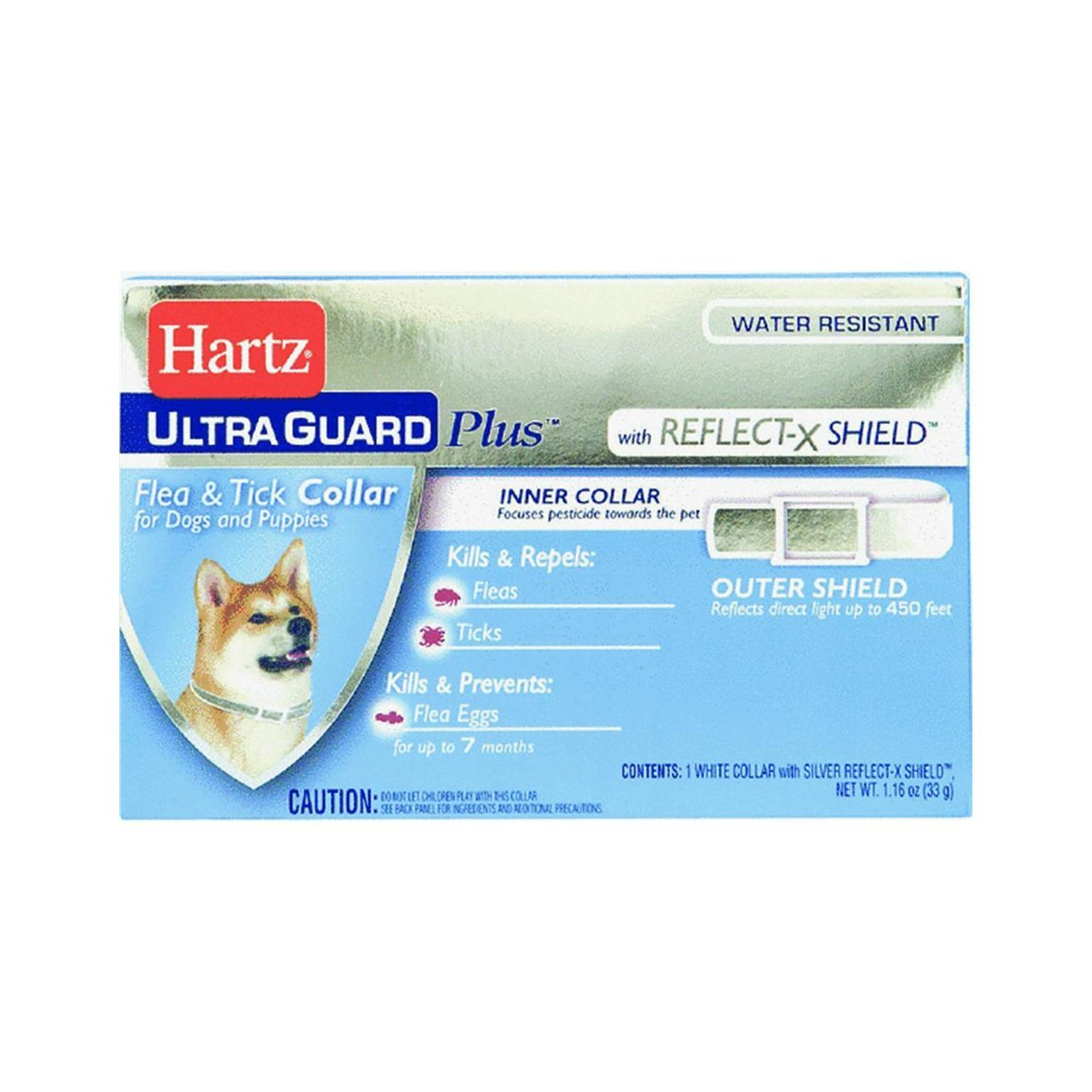 Hartz Ultraguard Plus Reflecting Flea &Tick Dog Collars