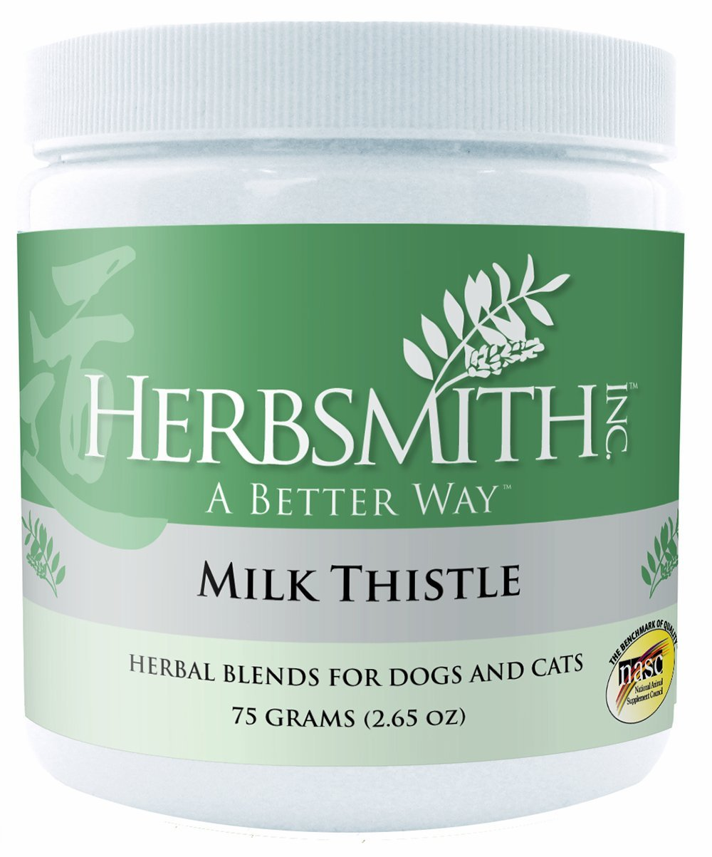 Herbsmith Milk Thistle Herbal Supplement for Dogs and Cats