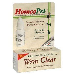 HomeoPet Solutions Worm Clear