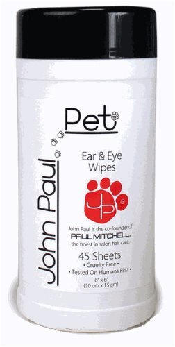 John Paul Pet Wipes Ear and Eye