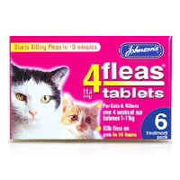 Johnsons 4Fleas Cat & Kitten Tablets