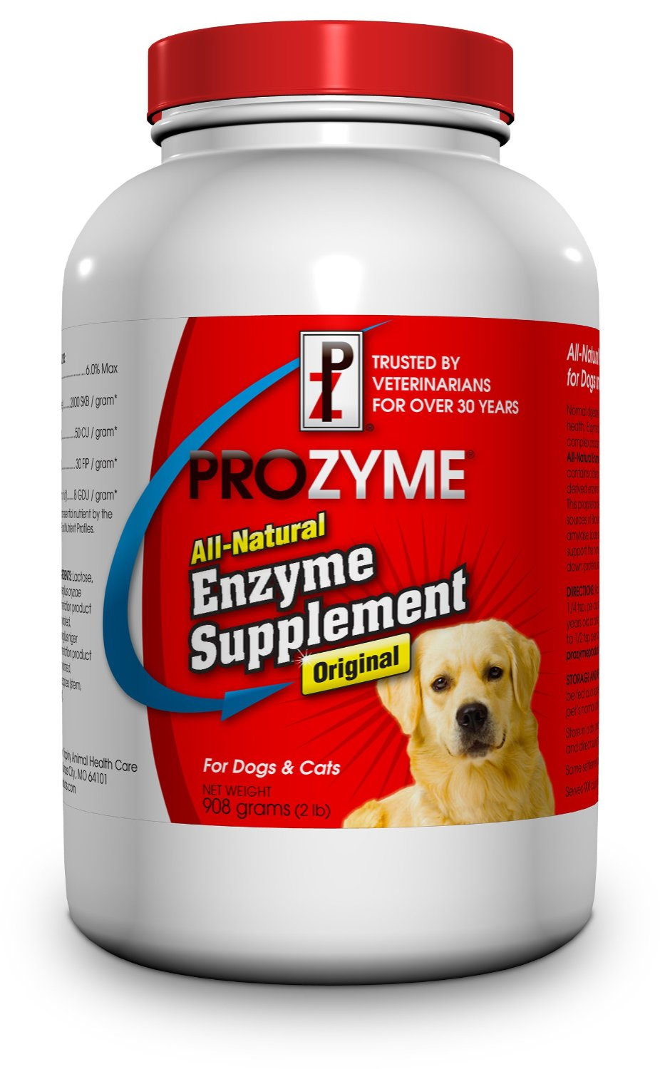 Lambert Kay Prozyme Original All-Natural Enzyme Supplement