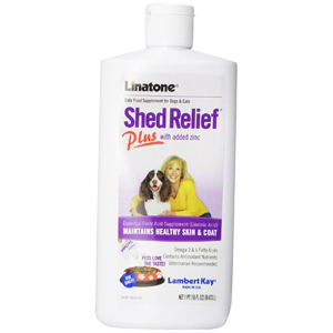 Linatone Shed Relief Plus Food Supplement for Dogs