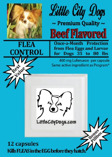 Little City Dogs Flea Control Capsules