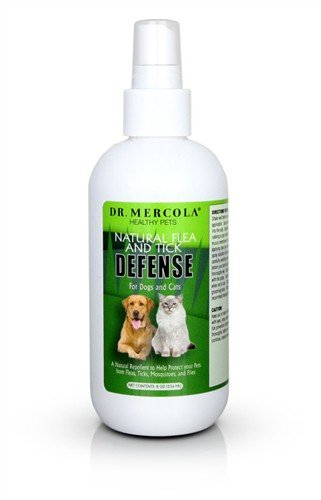 Mercola Natural Flea and Tick Defense Bottle Spray