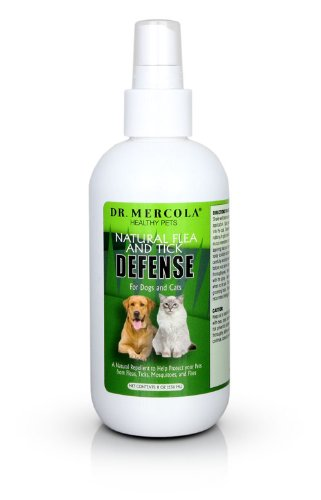 Mercola Natural Flea and Tick Defense Spray Bottle