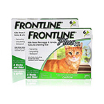 Frontline Plus Flea and Tick Control for Cats and Kittens