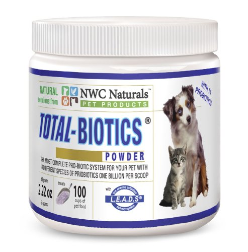 NWC Naturals Total-Biotics Probiotics for Canines and Felines