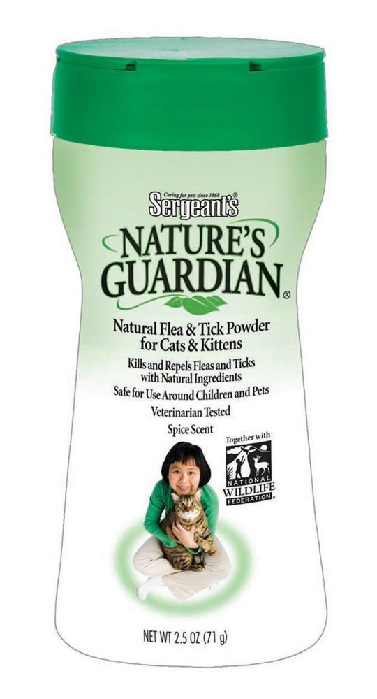 Natguardian Cat Flea and Tick Powder