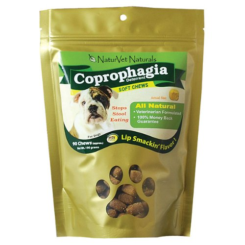 NaturVet Coprophagia Deterrent Soft Chews