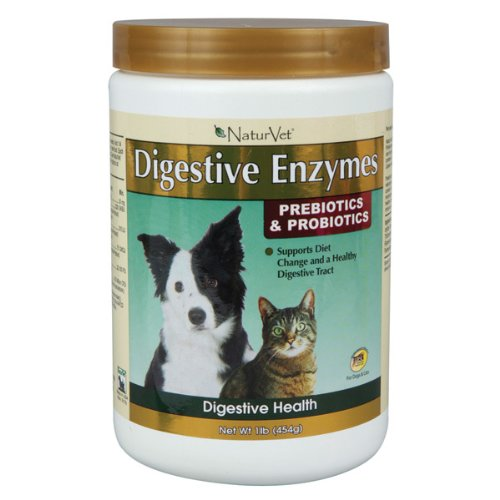 NaturVet Digestive Enzymes for Pets