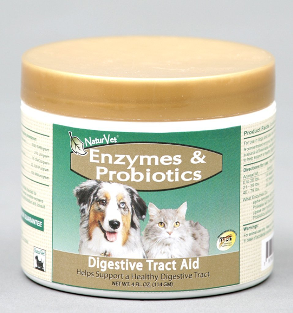 NaturVet Enzymes and Probiotics for Pets