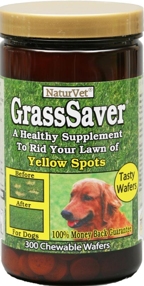 NaturVet GrassSaver Chewable Wafers