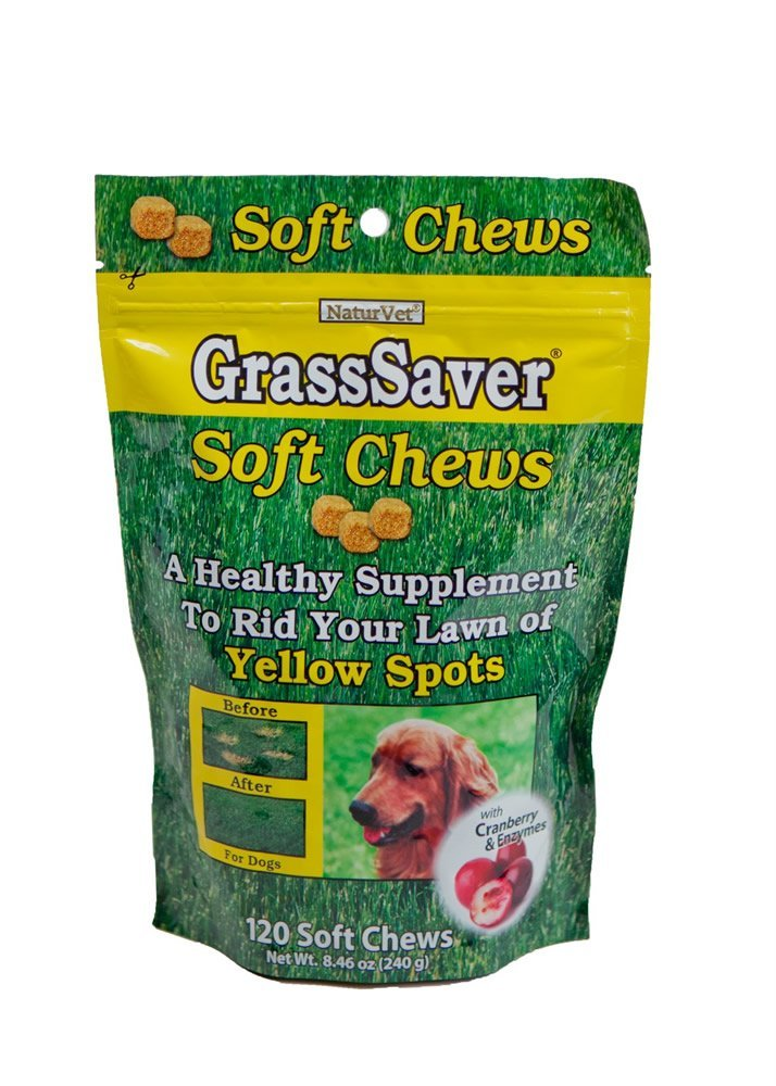 NaturVet GrassSaver Soft Chews with Cranberry