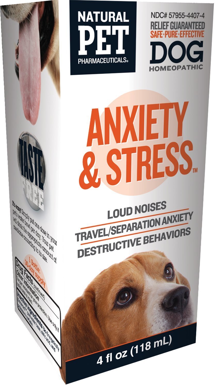 Natural Pet Pharmaceuticals by King Bio Anxiety and Stress Control for Dog