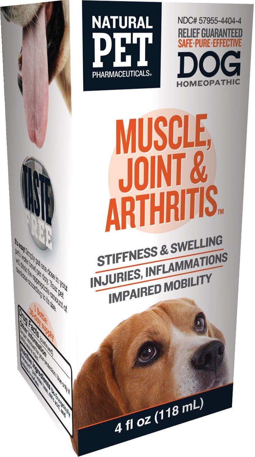 Natural Pet Joint and Arthritis Control for Dogs
