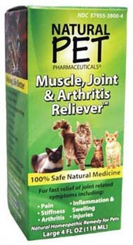 Natural Pet Muscle Joint Arthritis Cat