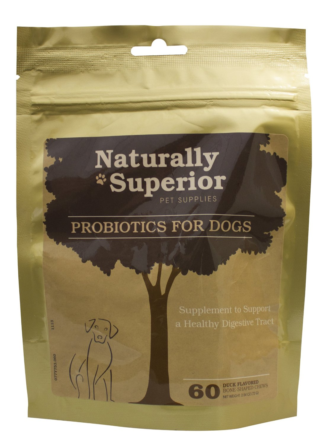 Naturally Superior Pet Supplies Probiotics For Dogs