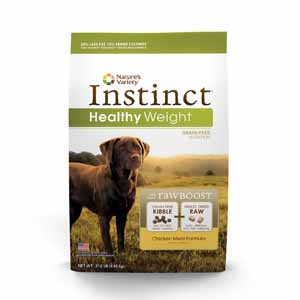Nature's Variety Instinct Grain-Free Healthy Weight Food