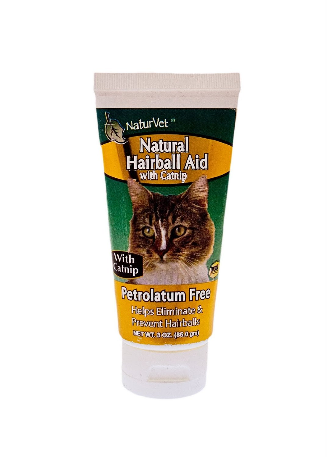 Naturvet 3oz Natural Hairball Gel with Catnip