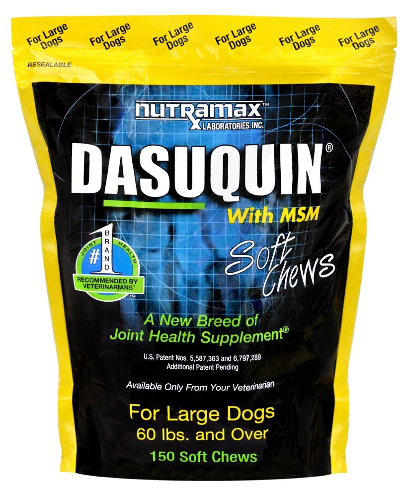 NutraMax Dasuquin with MSM Soft Chews for Large Dogs